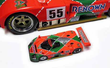 1991 Le Mans Winner Mazda 787B by Kyosho