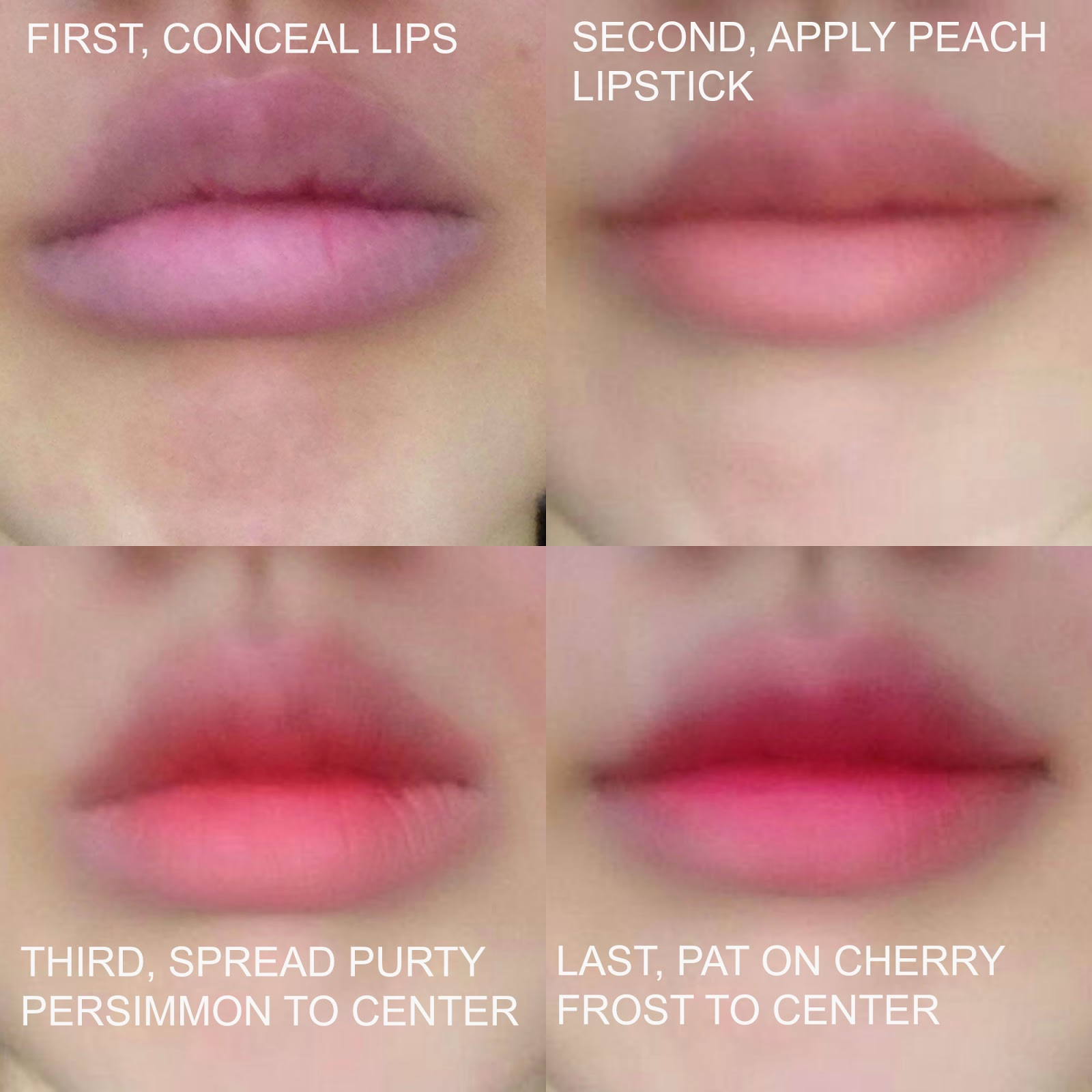 Korean Gradient Lip Tutorial With American Products