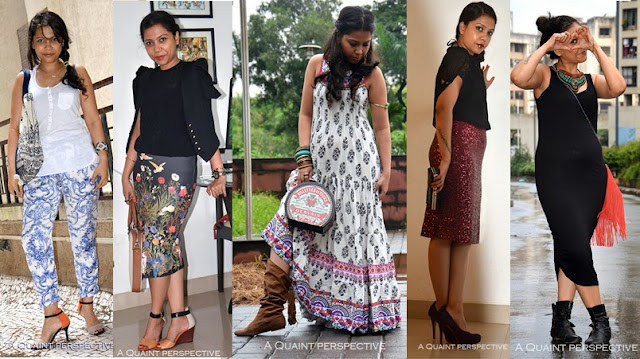Here is a visual summary of the looks you saw on previous days with Sudipta Nandi