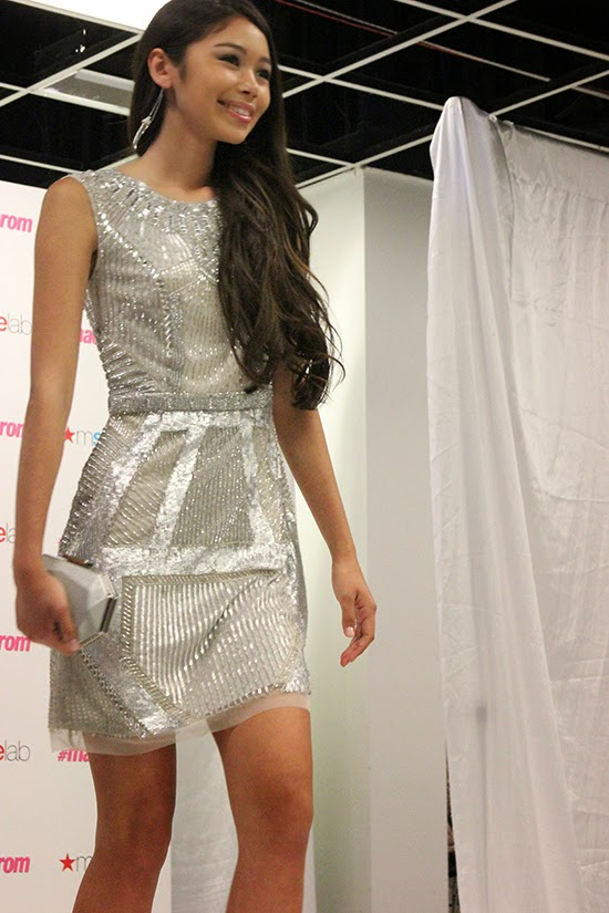 Silver Sequin Gatsby Prom Dress 2015