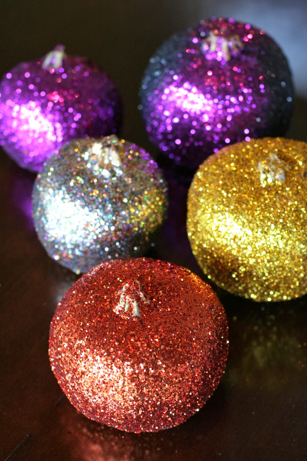 Making Glitter Pumpkins: a fun Halloween Craft for Kids from Fun at Home with Kids