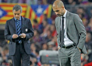 Mourinho Y Guardiola En Las Finales