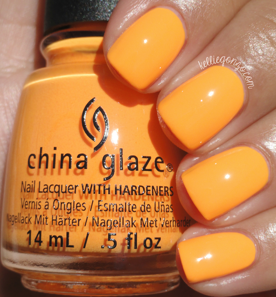 China Glaze Home Sweet House Music Electric Nights