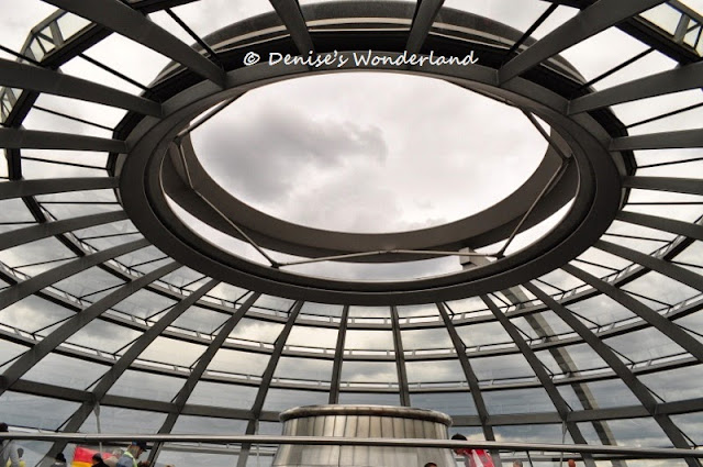 The Glass Dome in Berlin