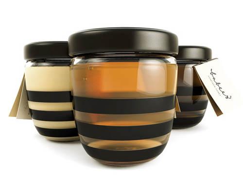design de embalagem - food packaging design - Babees Honey