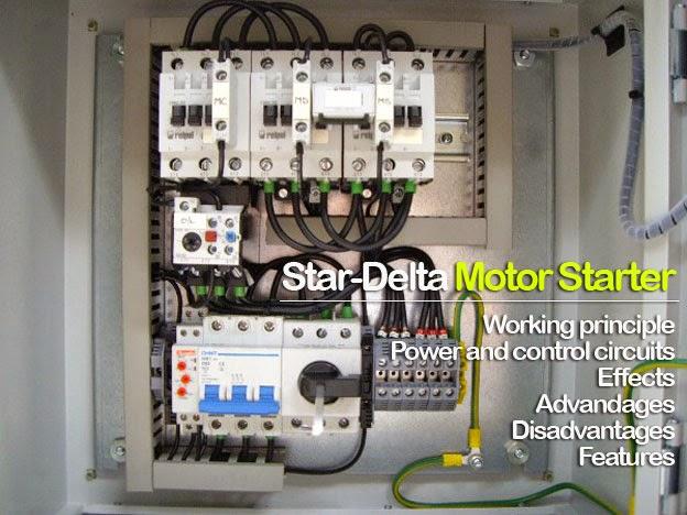 Star delta motor starter electrical engineering planet for Star delta motor starter