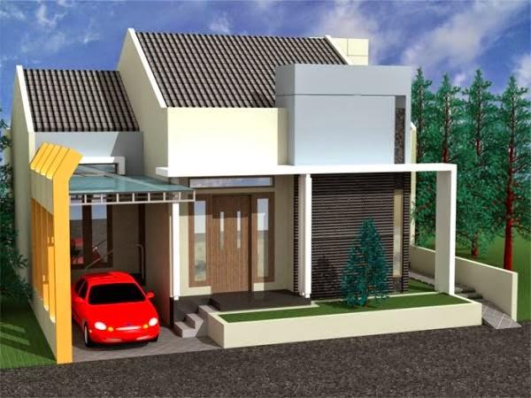Contoh model rumah minimalis Terbaru5