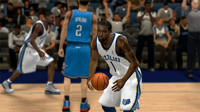 NBA 2K13 Tony Wroten Memphis Grizzlies Playoffs