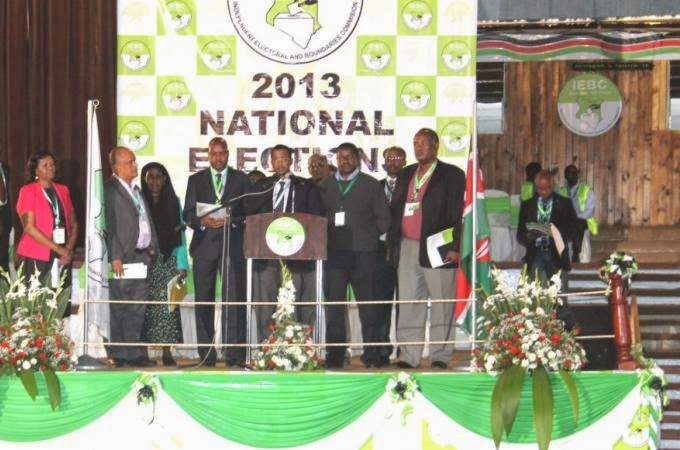 AHMED ISSACK HASSAN- CHAIRMAN, THE IEBC
