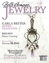 I'm on the cover of Belle Armoire Jewelry!!