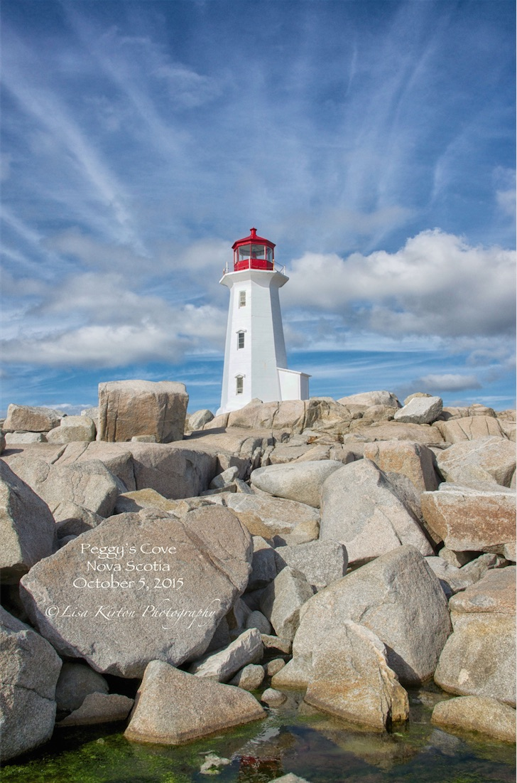 The Beautiful Peggy's Cove
