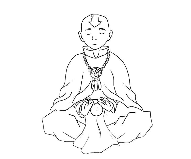 avatar-aang-ability-coloring-pages
