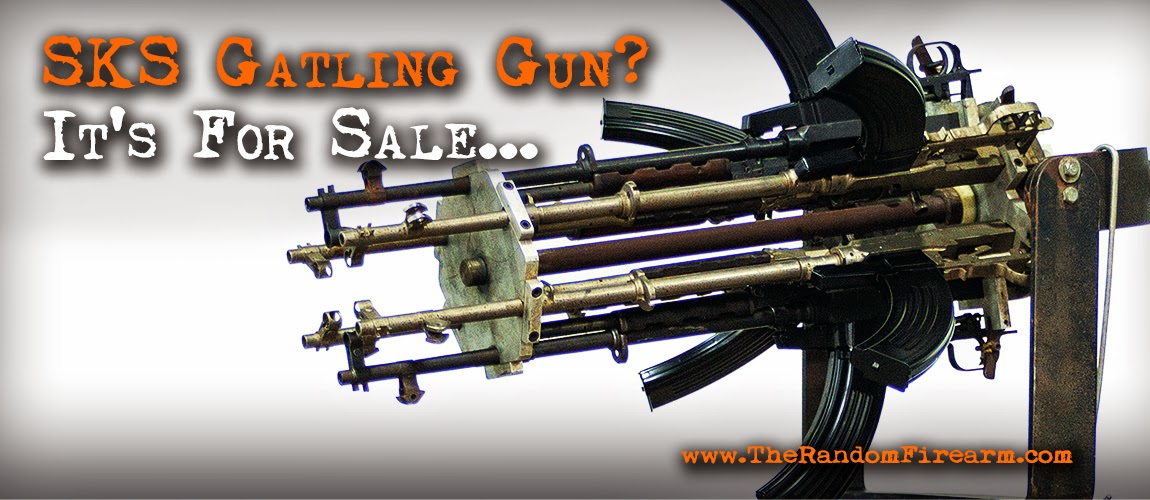 sks gatling gun random firearm dp productions dylan benson