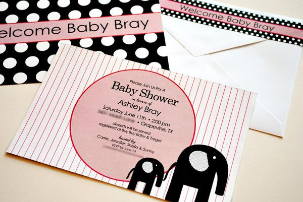 Baby Shower modernos