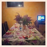 La tavola primaverile
