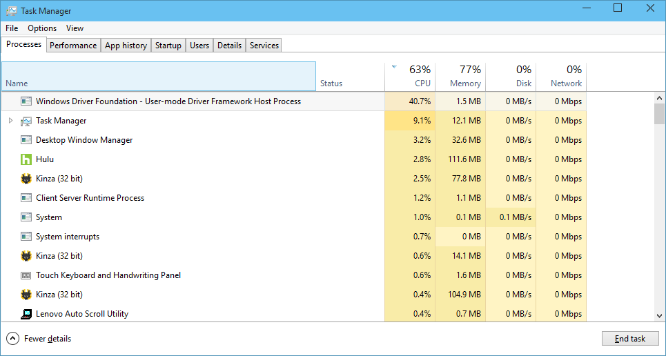 Wudfhost exe windows driver foundation