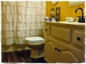 Our small bathroom face-lift on a teeny budget