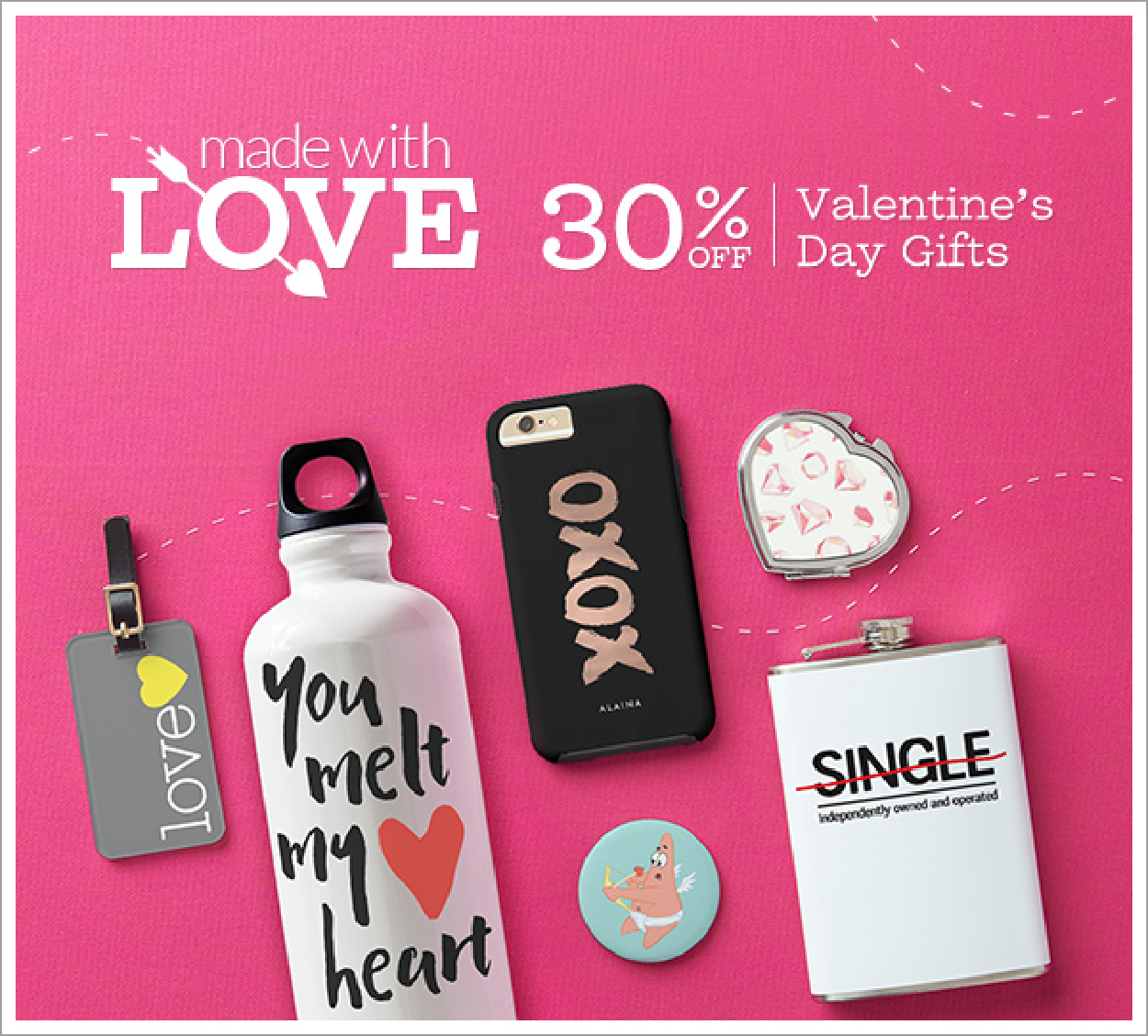 30% Off Valentine's Day Gifts