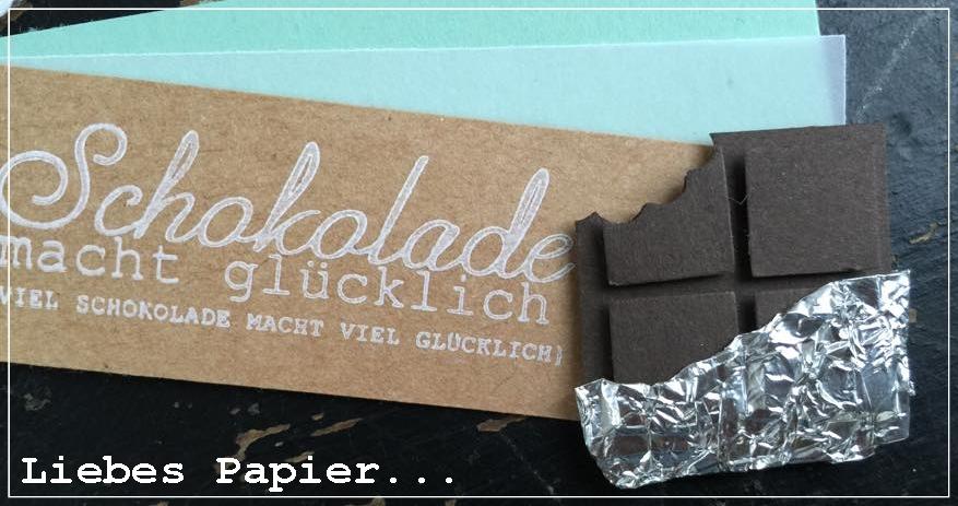 liebes papier schokolade selber machen ganz ohne kalorien aber mit suchtgefahr. Black Bedroom Furniture Sets. Home Design Ideas