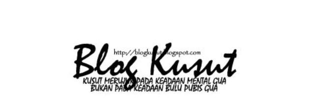 Blog Kusut