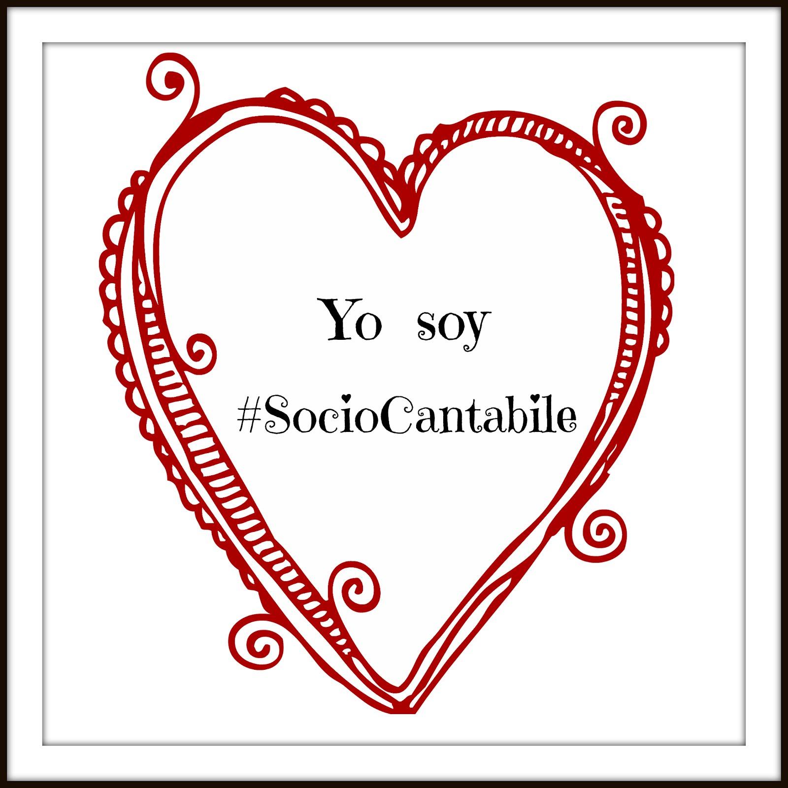 Yo soy #socioCantabile ¿Y tú?