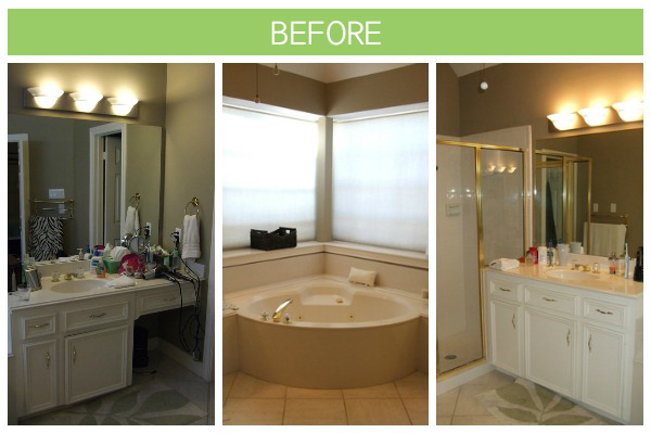 Before And After A Bathroom Transformation Design Fixation - Bathroom transformations