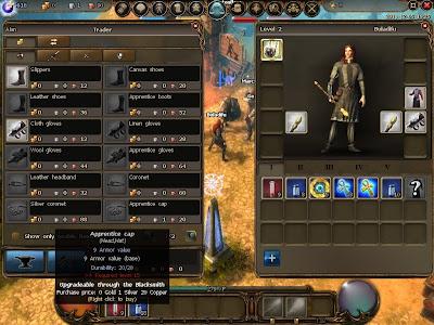 Drakensang Online - Weapon Trader