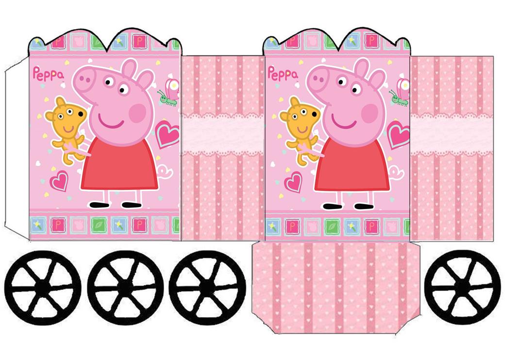 Photo caja sorpresa de peppa pig image for Manual avidsen espanol 114452