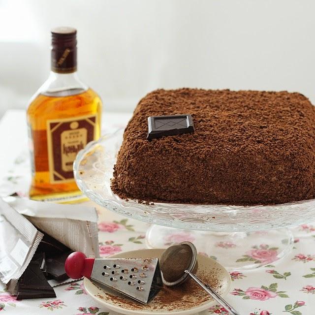 """Торт """"Трюфель"""" по ГОСТу"""