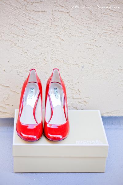 Michael Korsin Käsilaukku : Eternal sunshine pienet punaiset keng?t