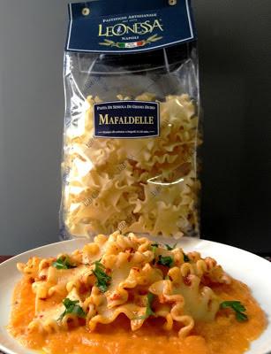 pasta + zucca + nduja