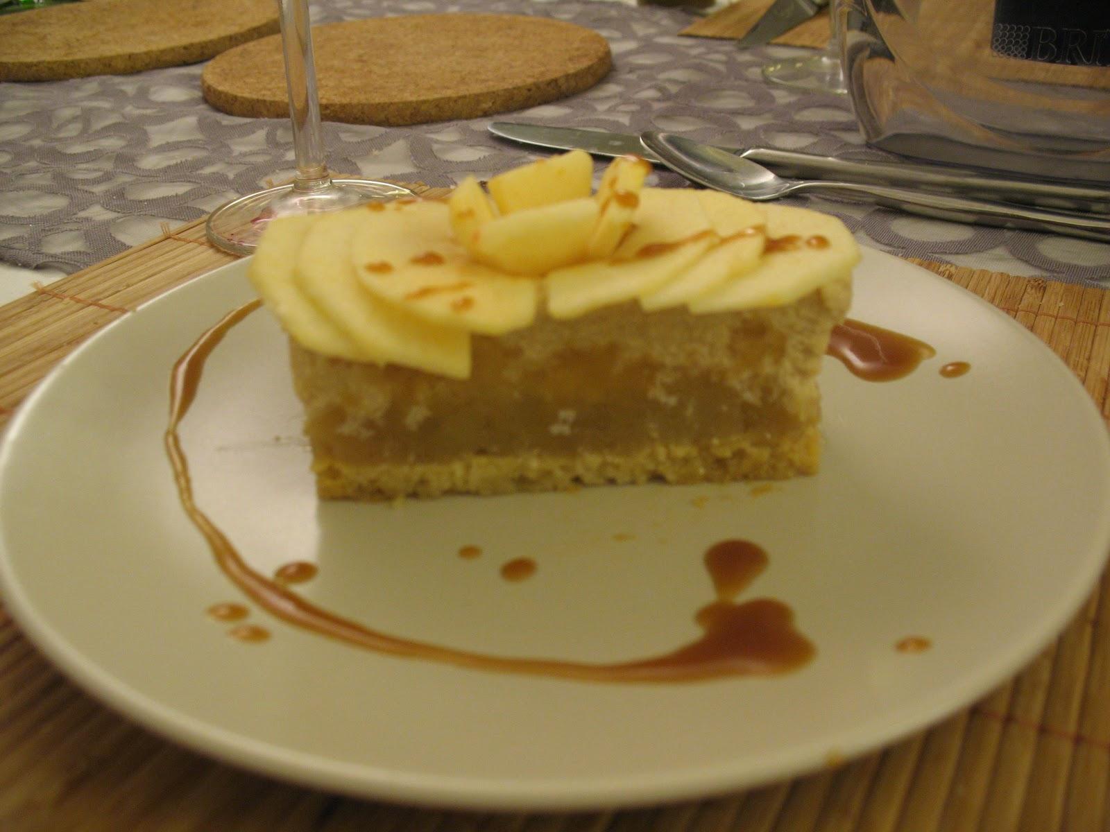 huile d olive et gourmandise entremet pomme caramel beurre sal 233