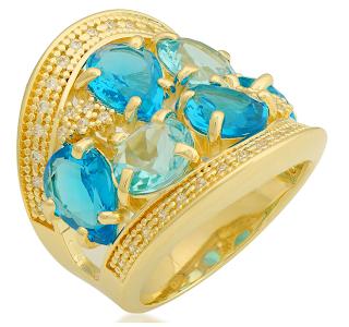 joias folheadas a ouro