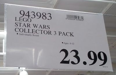 Deal for the Lego Star Wars Collector 3 in 1 Pack