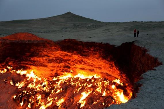 Wah! Ada Gerbang Neraka Di Turkmenistan [ www.BlogApaAja.com ]