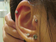 The tragus piercing blocked my ear hole :(. Its getting late soo.