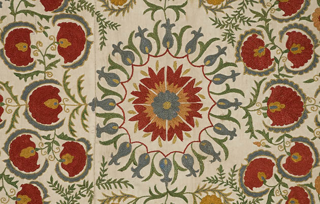 Quilt history reports: applique inspirations from central asian