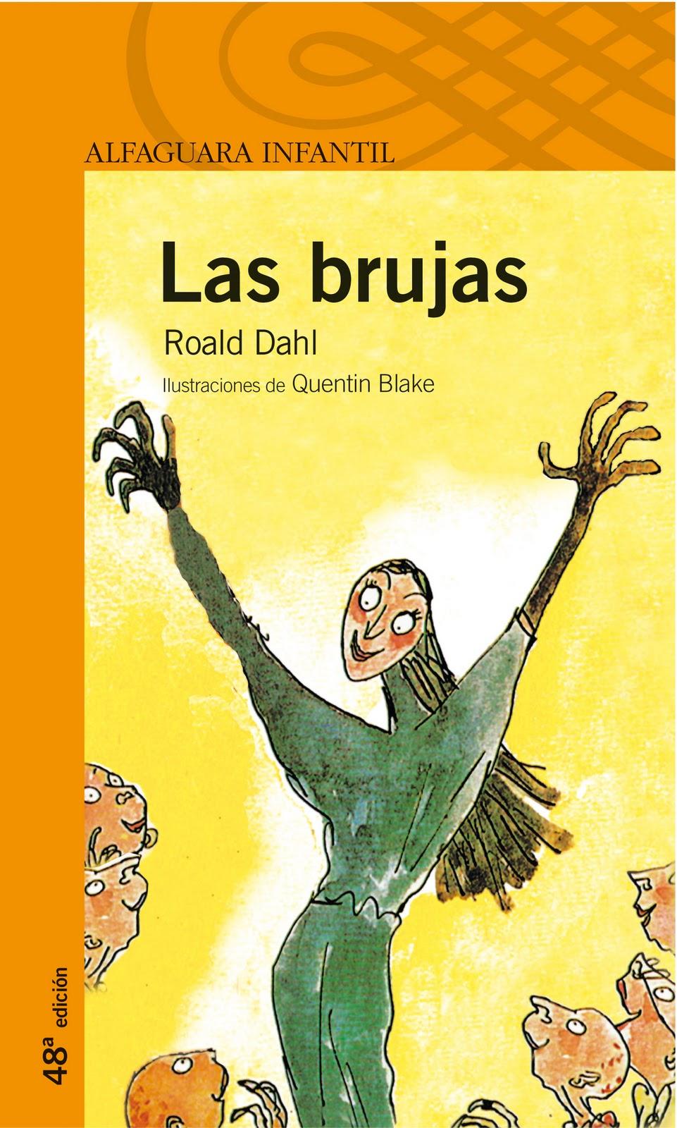 Matilda Libros: Semana de Roald Dahl. Las brujas.