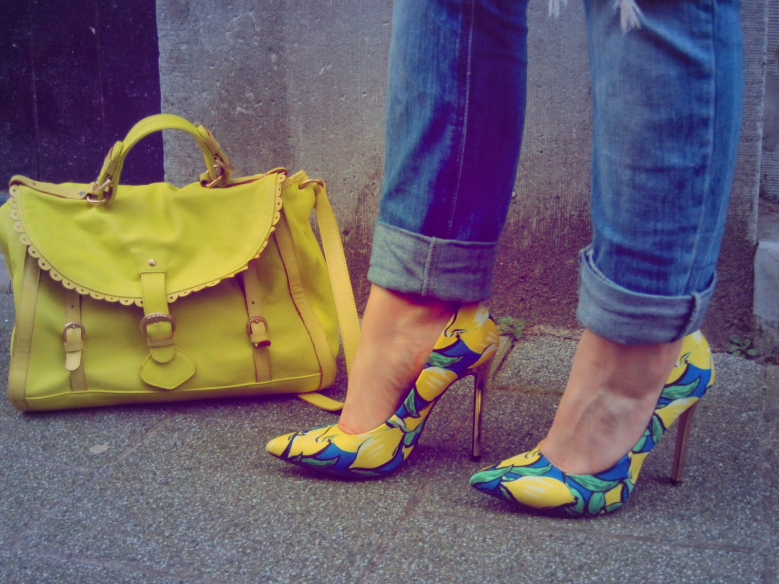 fashion-bridge, fashion-bridge.blogspot.com, fashion-bridge blog, lemon pumps, see by cloe bag, street style, street fashion, street style netherlands