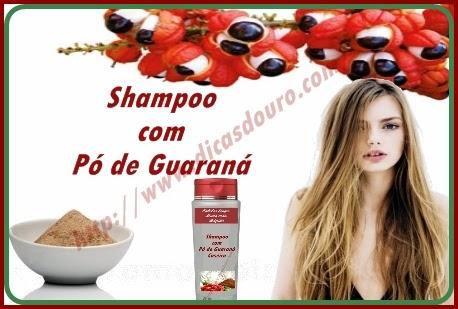 Aprenda como acelerar o crescimento dos cabelos com shampoo de guaraná caseiro, aprenda como fazer em casa