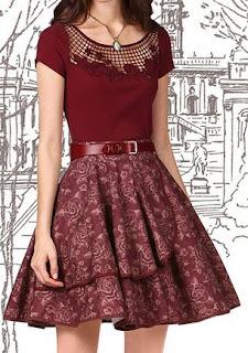 Vestidos de Estilo Vintage, Moda Casual