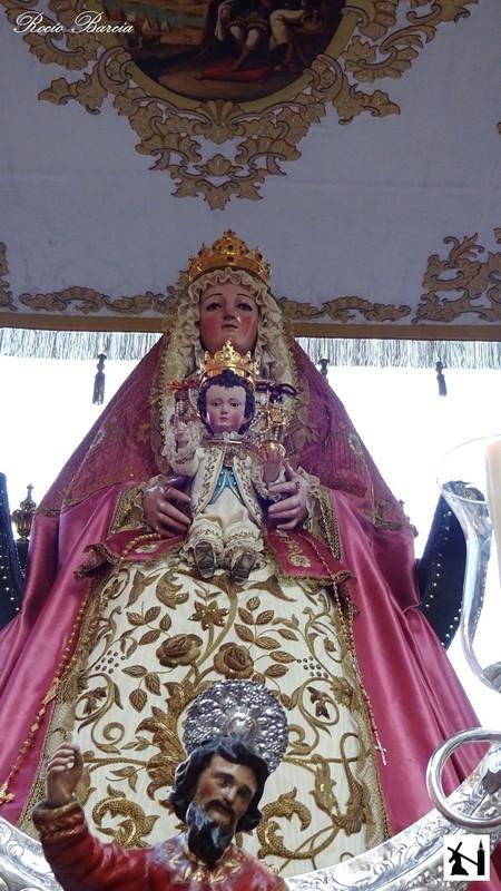 Cofrad as sevilla nuestra se ora de los reyes patrona de for Mudanzas virgen de los reyes