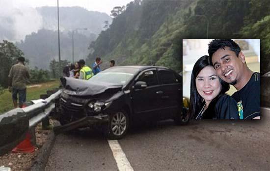 Eira Syazira Dan Azad Jasmin Kemalangan di Terowong Menora