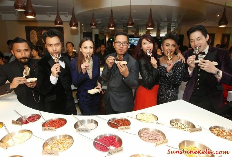 Wak Doyok, Ning Baizura, Alan Yun, Nasha Aziz, Aqashaa, Belinda Chee, Magnum Café Kuala Lumpur, Magnum Kuala Lumpur, Magnum Cafe, Make My Magnum, Magnum ice cream