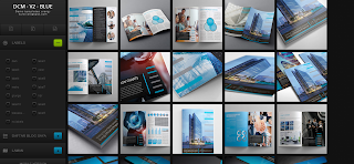 Dcm V2 Blue Blogger Template is a gallery style clean blogger template