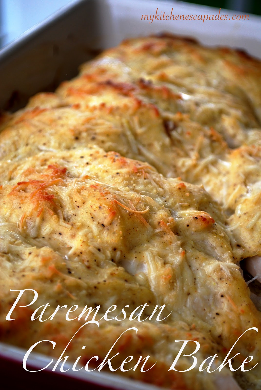 Parmesan Chicken Bake Adapted From Food Com 6 Chicken Breasts 1 C