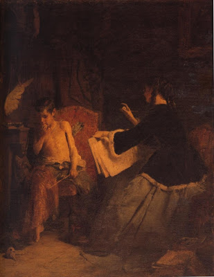 Nikolaos Gysis 1842-1901   Griego Múnich Escuela de