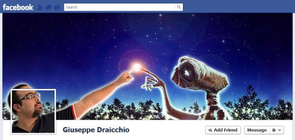 giuseppe draicchio facebookfever Amazing Creative Facebook Timeline Covers