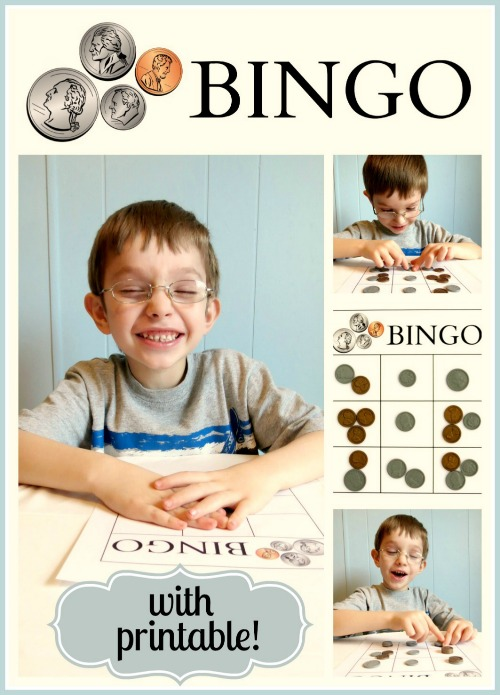 presidents day bingo, coin bingo