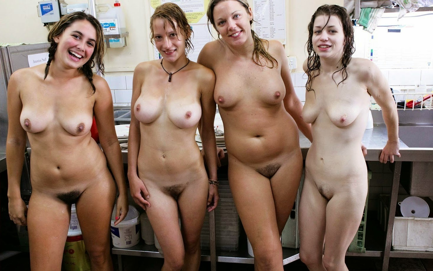from Tristan nude women in groups